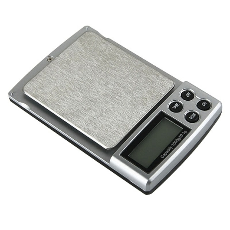 BasAcc Black 2-pound Digital Pocket Scale