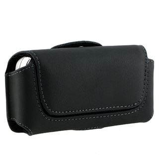 BasAcc Black Leather Case with Cover for Nokia N97