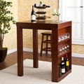 Upton Home Benton Mahogany Bistro Table