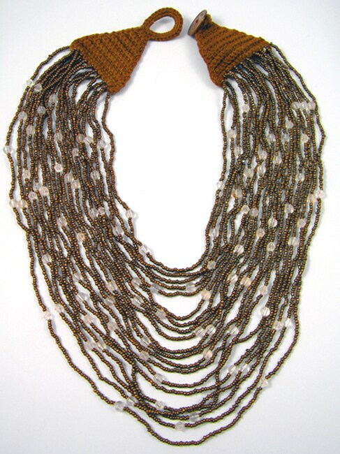 Handmade Copper Vision Necklace (India)