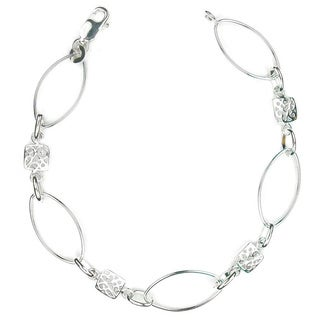 Jewelry by Dawn Oval Link Sterling Silver Bracelet