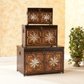 Upton Home Beaufort Trunk 3-piece Set
