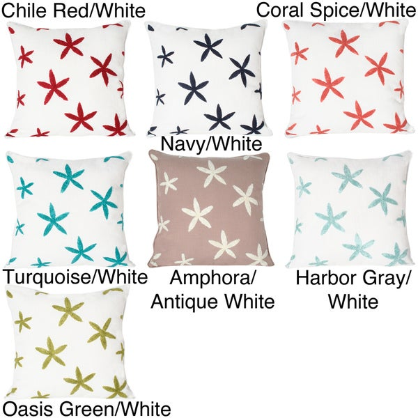 Sea Starfich Towel Stitch Pillow
