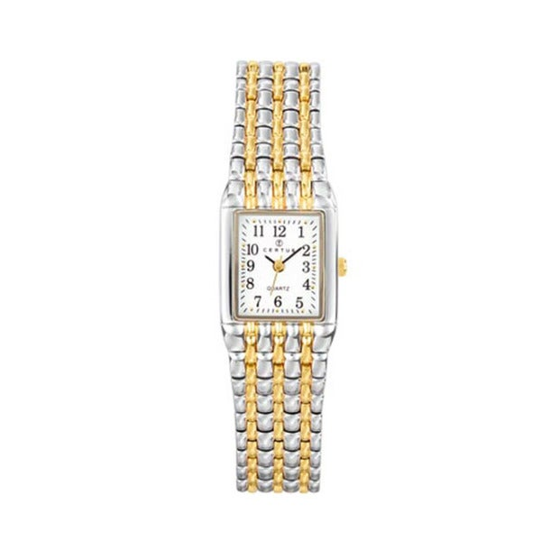 Certus Paris Women's Two-tone Stainless Steel White Dial Watch