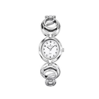 Certus Paris Contemporary Women's Brass Silver Dial Watch