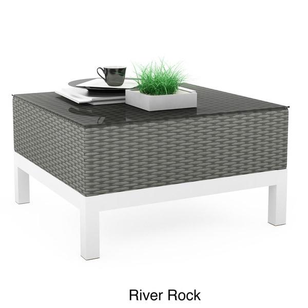 Sonax T-104-GBP River Rock Weave Beach Grove Table
