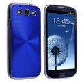BasAcc Blue Cosmo Rear Snap-on Case for Samsung Galaxy S III i9300