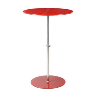 Raina Red Side Table