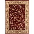 Woven Wilton Red Traditional Persian Rug (5'3 x 7'10)