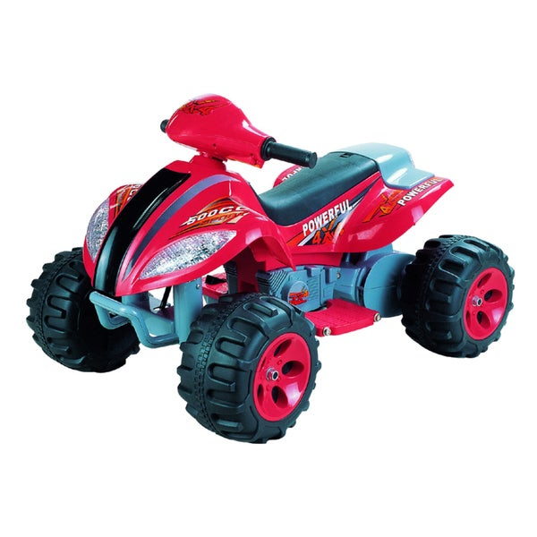 Max Quad Red 6 Volt Battery Operated Ride-on