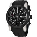 Momo Design Men's MD280TT-01BKBK-RB 'Composito' Black Dial Black Rubber Strap Watch