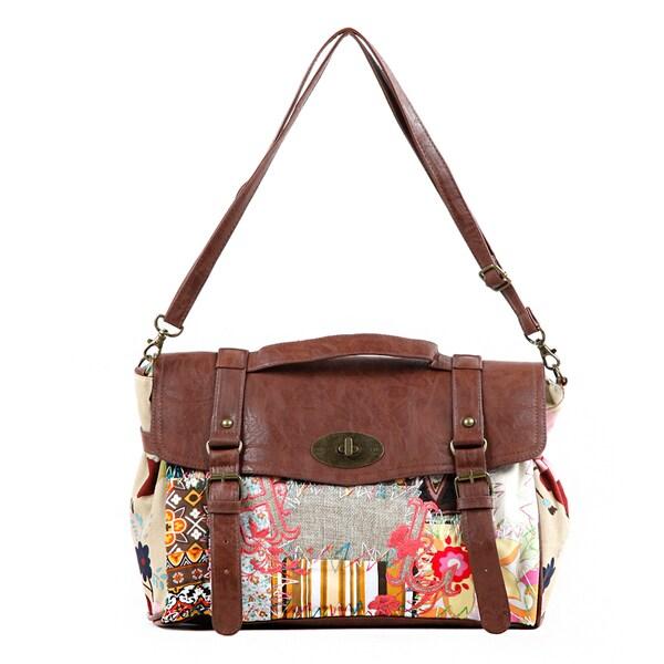 Nikky Shianne Sew Wild Satchel Bag