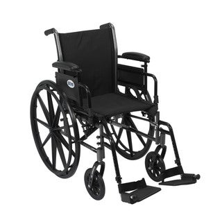 Drive Medical K318ADDA-SF Cruiser III 18-inch Lightweight Dual Axle Wheelchair