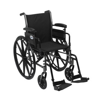Drive Medical K316ADDA-SF Cruiser III Lightweight Dual Axle Wheelchair