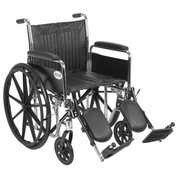 Drive Medical Chrome Sport Wheelchair
