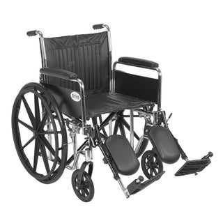 Chrome Sport 20-inch Dual Axle Wheelchair