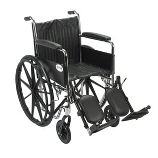 Chrome Sport 18-inch Dual Axle Wheelchair
