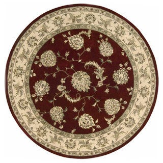 Nourison 2000 Hand-tufted Kashan Lacquer Rug (6' Round)