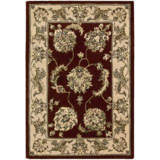 Nourison 2000 Hand-tufted Kashan Lacquer Rug (2' x 3')