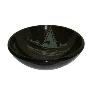 Interior Glass Sink Bowl