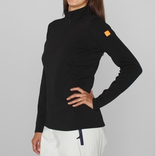 Arc'teryx Women's 'Phase SV' Black Zip Neck (L)