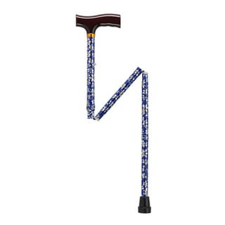 Drive Medical Lightweight Adjustable Folding Cane with T-Handle