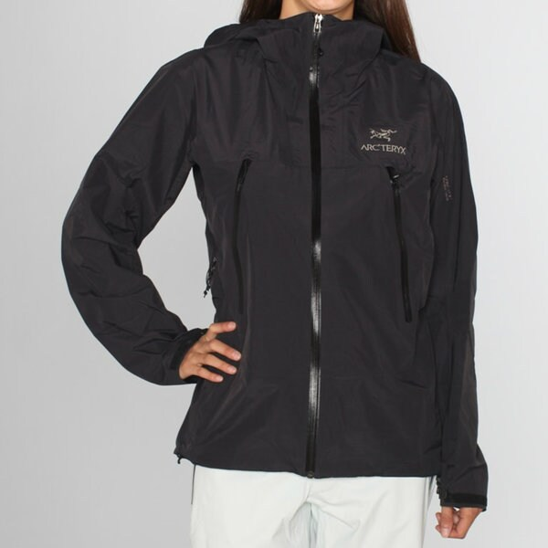 Arc'teryx Women's 'Alpha SL' Black Ski Jacket