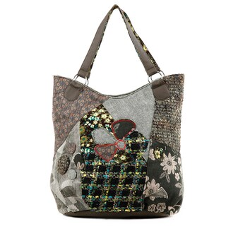 Nikky Aberdine Patchwork Tote