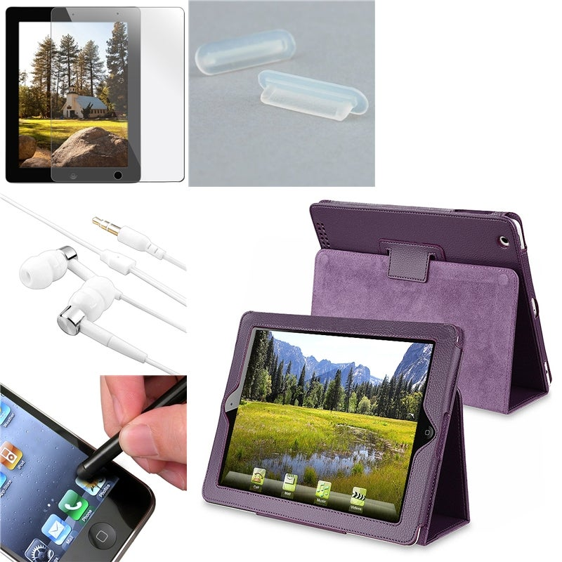 BasAcc Case/ Screen Protector/ Headset/ Plug for Apple� iPad 2/ 3
