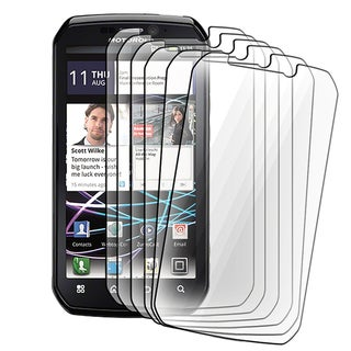 BasAcc Screen Protector for Motorola MB855 Photon 4G (Pack of 6)