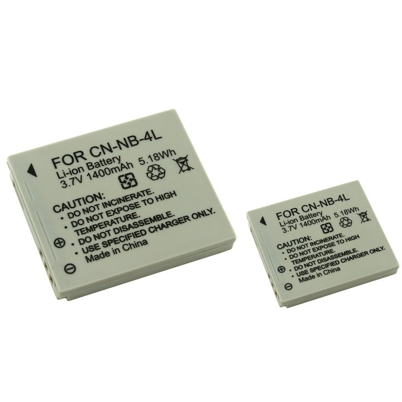 BasAcc After-Market Li-ion Battery for Canon PowerShot SD630/ SD750 (Pack of Two)