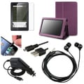 BasAcc Case/ Screen Protector/ Charger/ Headset for Amazon Kindle Fire