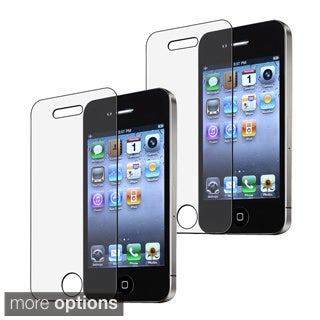 BasAcc Anti-glare Screen Protector for Apple? iPhone 4/ 4S (Pack of 3)