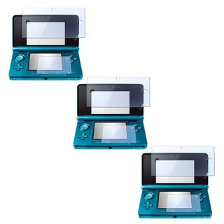 INSTEN 2-LCD Kit Screen Protector for Nintendo 3DS (Pack of 3)