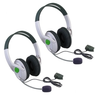 Xbox 360 - BasAcc Headset with Microphone Slim (Pack of 2)