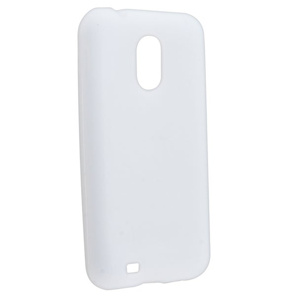 BasAcc White Silicone Skin Case for Samsung© Epic 4G Touch SPH-D710
