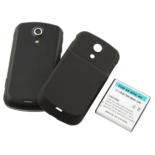 BasAcc Extended Li-ion Battery with Cover for Samsung© Epic 4G