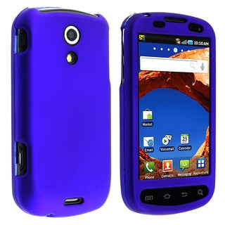 BasAcc Blue Snap-on Rubber Coated Case for Samsung� Epic 4G
