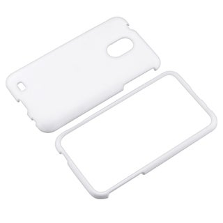 BasAcc White Rubber Coated Case for Samsung� Epic 4G Touch D710