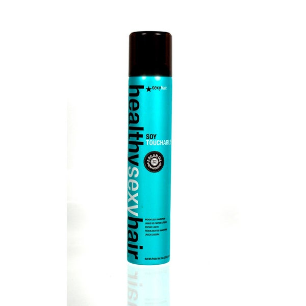 Healthy Sexy Hair Soy Touchable 9-ounce Weightless Hairspray
