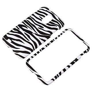 BasAcc Black/ White Snap-on Case for Samsung� Epic 4G Touch SPH-D710