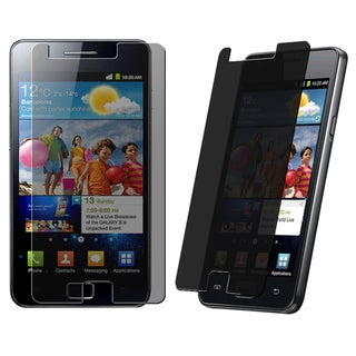 BasAcc Privacy Filter Screen Protector for Samsung� Galaxy S 2 i9100