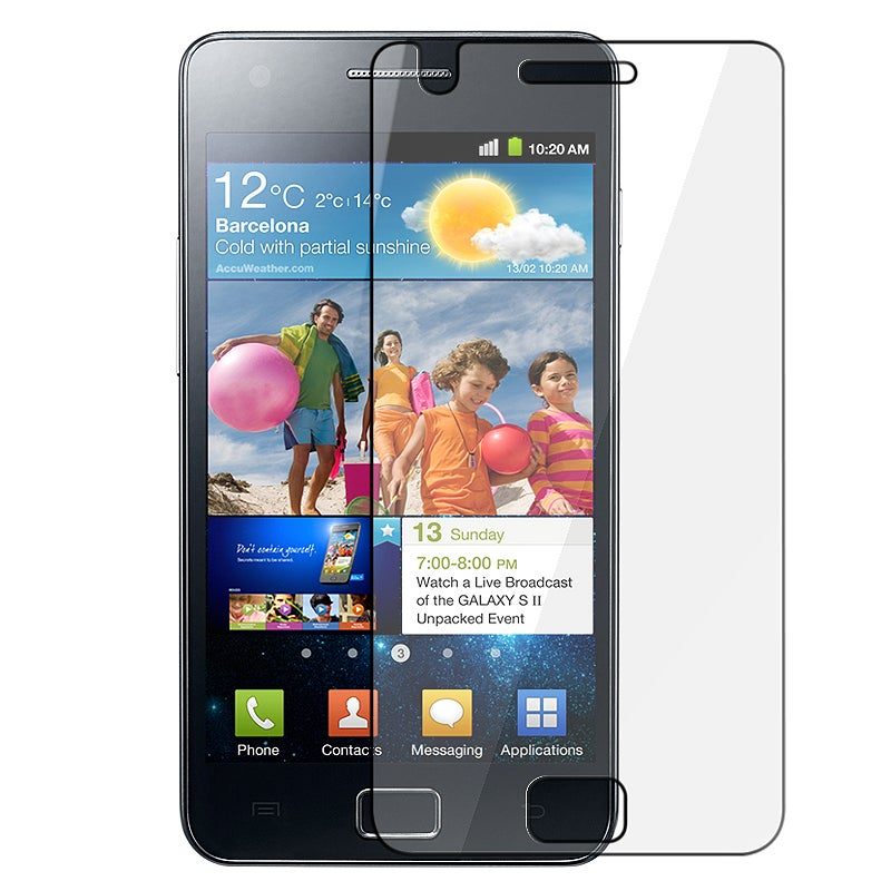 BasAcc Anti-glare Screen Protector for Samsung� Galaxy S 2 GT-i9100