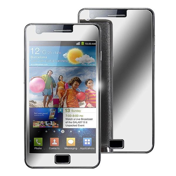 INSTEN Mirror Screen Protector for Samsung Galaxy S 2 GT-i9100