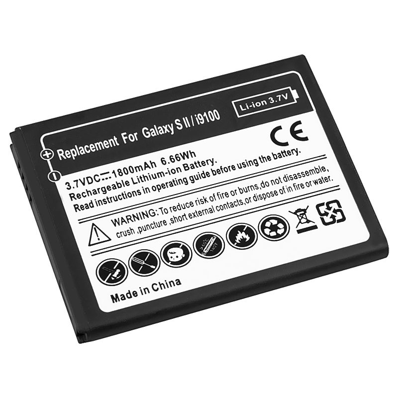 BasAcc Li-ion Battery for Samsung Galaxy S II/ S2 i9100
