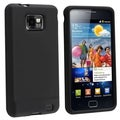 BasAcc Black Silicone Skin Case for Samsung� Galaxy S 2 i9100