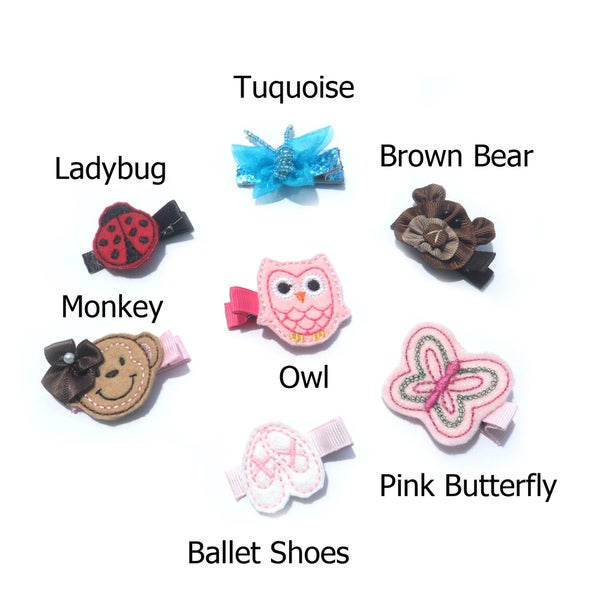 Boutique Character Hair Clip