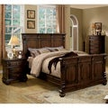 Wyatt 3-piece Queen-size Bed with Nightstand and Chest Set