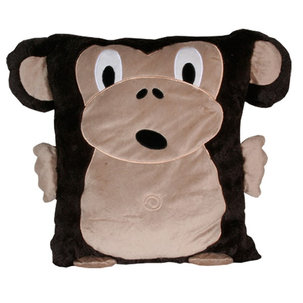 Monkey Animal 18x22-inch Pillow