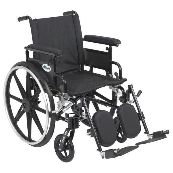 Viper Plus GT Wheelchair with Flip Back Adjustable Arms